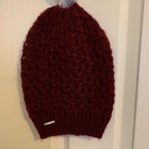 Maroon Nautica Knit Hat